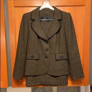 Semantiks Wool Blend Career Suit